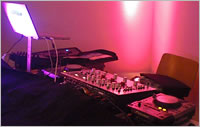 Maurice Knight DJ Equipment for Wedding Party